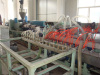 PP wood profile extrusion line