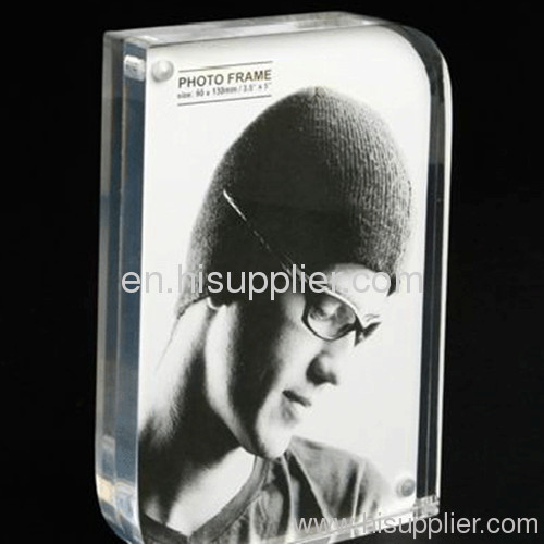 Clear Custom Acrylic Magnet Photo Frame Acrylic Picture Frame