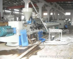 PE PP PPR cold and hot water supply pipe production line