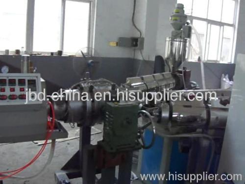 PP soundproof pipe production line