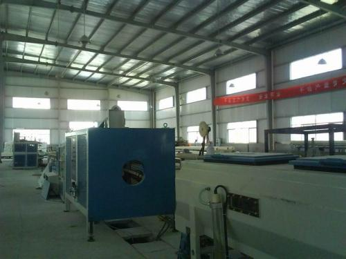 Vertical type Double Wall Corrugated PVC Pipe Extrusion line