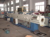 UPVC pipe extruding line