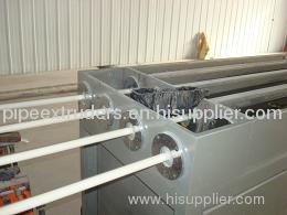 PVC four pipe machinery