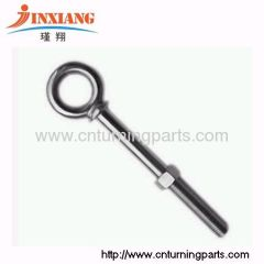 key ring screw machined accessory