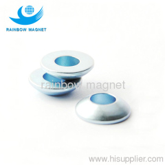 Zn coating magnet NdFeB cup