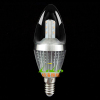 2012 NEW design light crystal chandelier lamp 5w led candle bulb samsung chip DIM