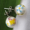 shell pearl stud earrings,shell pearl,pearls,pearl jewelry