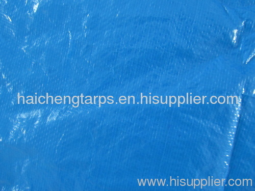 Blue/blue Waterproof PE Tarpaulin