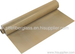 High temperature PTFE coated Fiberglass cloth