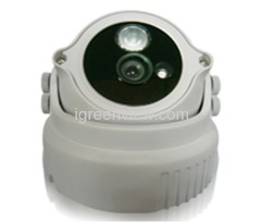 Vandalproof outdoor Array LED Dome camera