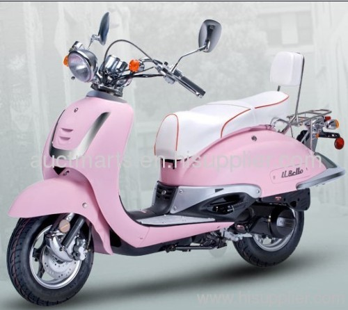 EEC DOT retro scooter, moped scooter, gasoline scooter