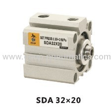SDA Series thin type(compact) pneumatic cylinder