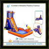 inflatable plastic water slide games