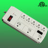 8 outlet Ethernet surge suppressor