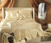 Jacquard silk bed sheets