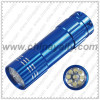 Multicolor 9 Led Flash light