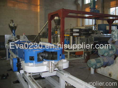 HDPE / PVC double wall corrugated pipe production line