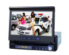 Bluetooth In-Car DVD Player 7 Inch 1Din - TV USB SD iPod