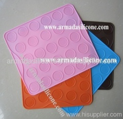 27 cavities small size silicone macaron mould/macaron silicone mold/silicone macaron pan