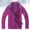 Womens Zipper Fleece Jacket