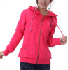 Womens Hooded Fleece Jacket