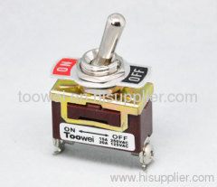 ON-OFF 2p toggle switch