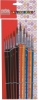Pony hair painting brush set