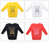 round neck Ladies Long Sleeve T Shirts