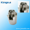 Plastic connector mould part with high quality