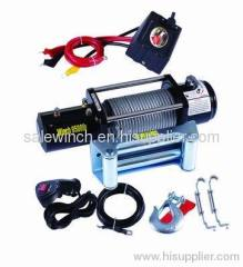 Car Winch 9500lbs with wired control