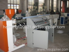 PE PP Ball Pen Barrel small pipe Extrusion Line