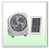 Oscillating Solar Rechargeable Fan & Light