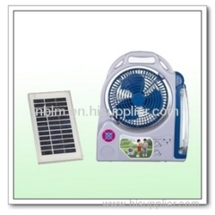 Fashion Portable Solar Fan