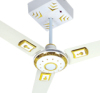 AC/DC Solar Ceiling Fans with Energy Saving Motor