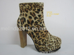 Leopard Lady Boots