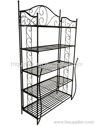 Greatest Rectangular folding wrought iron shelf manufacturer from Vietnam  MZ53
