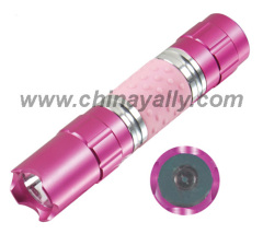 Aluminium1 Straw Hat LED Flashlight