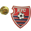 Football enamel badge