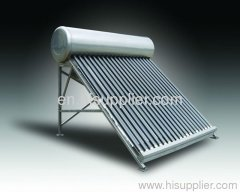 pressurized solar water heater-copper coil inside with high pressure
