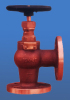JIS F7352 Marine Bronze Screw-Down Check Angle Valve 5K