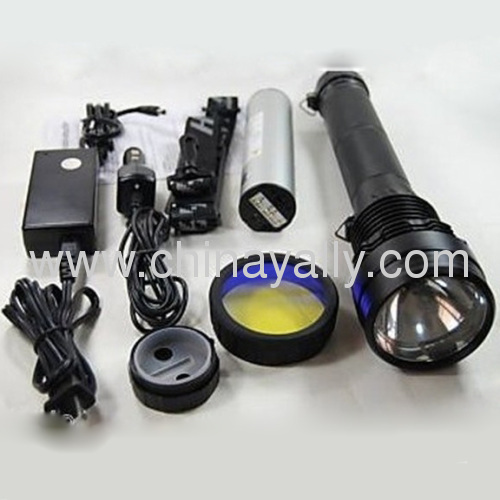 55/65W Dual power Xenon hid flashlight with charger