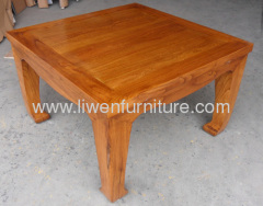Elm wood coffee table
