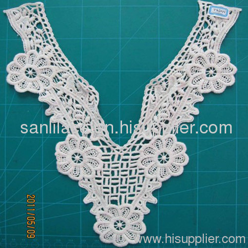 Embroidery collar lace