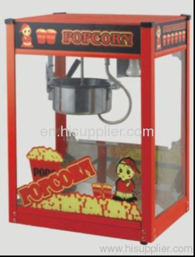 Automatic table top popcorn machine