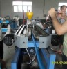 Plastic extruding single wall corrugation pipe Line