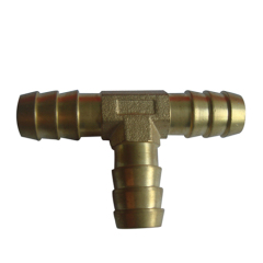 Brass Equal Hose Brab Tee Fittings