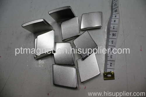 Strong Neodymium Arc Magnets