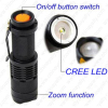 Mini Zoom Flash light with clip