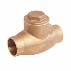 Bronze Swing Check Valve With Solder End
