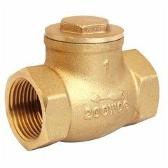 Brass Swing Check Valve With Female Thread